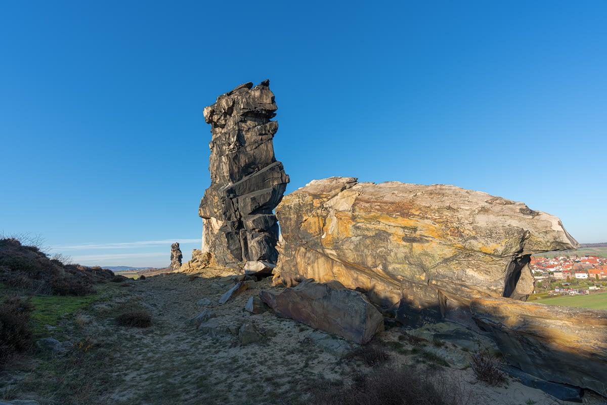 Teufelsmauer Adlerfelsen