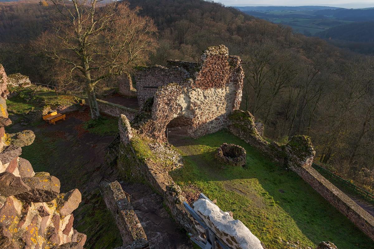 Burgruine Hohnstein Mittelalterlicher Bau