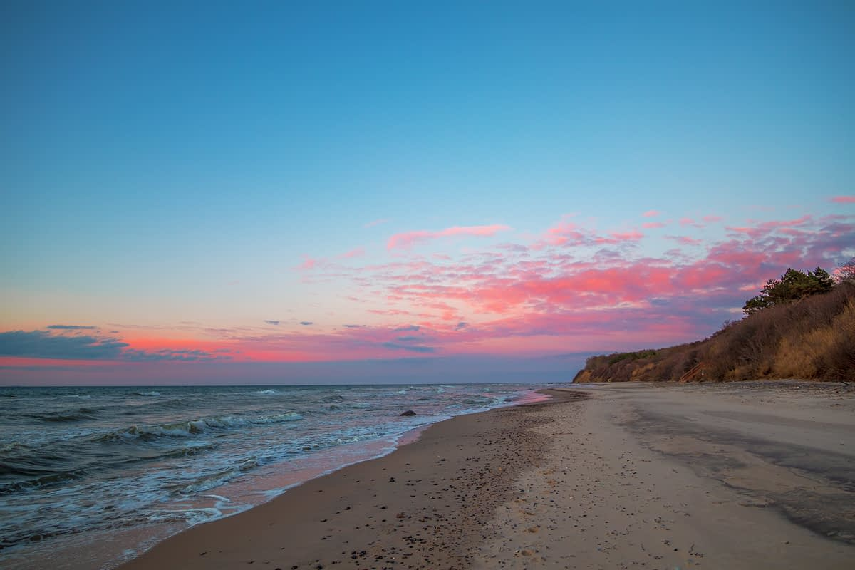 Nordweststrand Sonnenuntergang